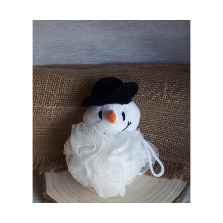 Fleur de douche enfant bonhomme de neige